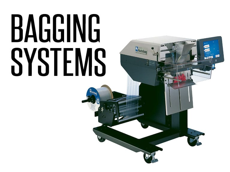 High speed, automated bagging machine