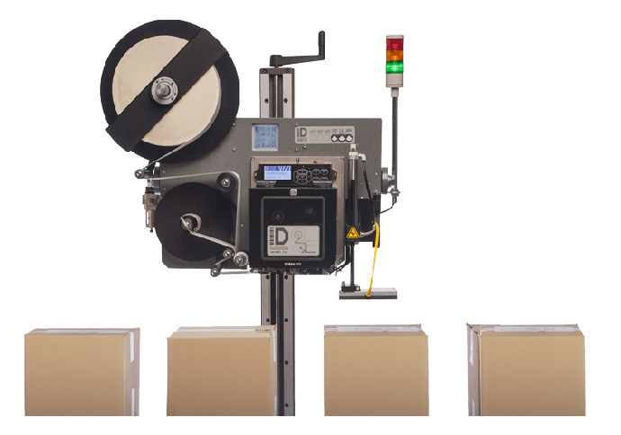 ID Technologies Model 252 Label Printer Applicator